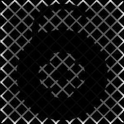 Digital lock Icon