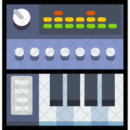Digital, Looping, Controller, Instrument, Music, Play, Sound, Entertainment Icon png