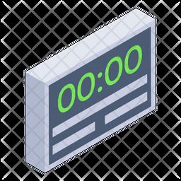 Digital Scoreboard Icon