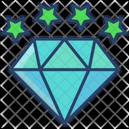 Dimond Star Icon