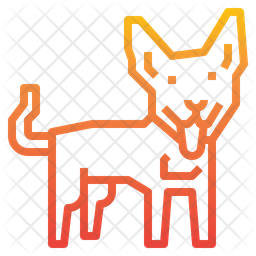 Dingo Dog Icon