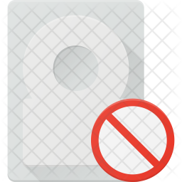 Disable harddisk Icon