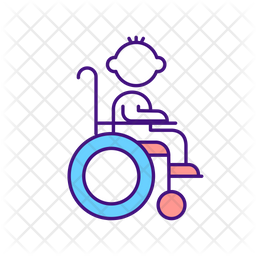 Disabled Child Icon