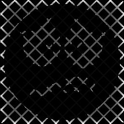Discontent Emoji Emoji Icon