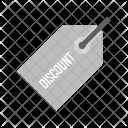 Discount Flat Icon
