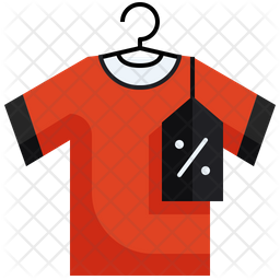 Discount On Tshirt Icon