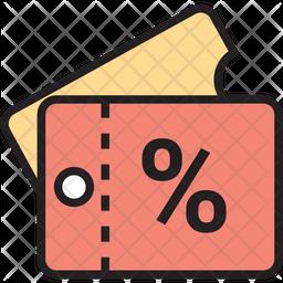 Discount Vouchers Icon
