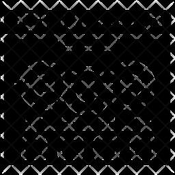 Dishwasher Glyph Icon