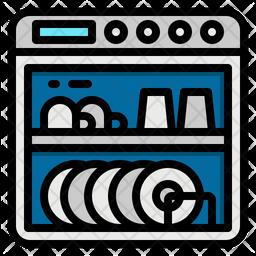 Dishwasher Icon