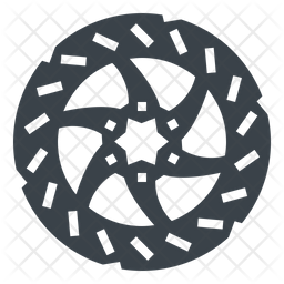 Disk Brakes Icon
