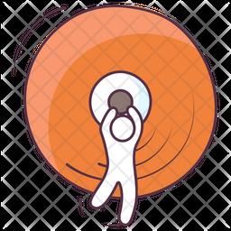 Disk Jockey Icon
