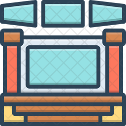 Display Colored Outline Icon