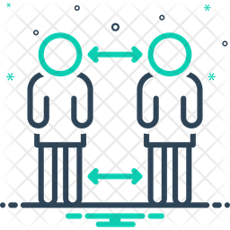 Distance Line Icon