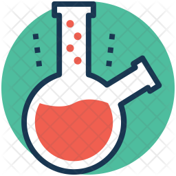 Distilling Flask Icon Of Colored Outline Style Available In Svg Png Eps Ai Icon Fonts
