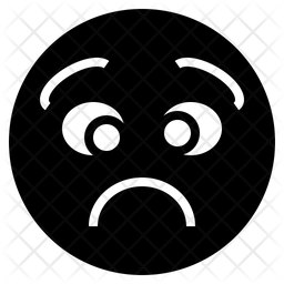 Distress Emoji Icon