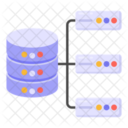 Distributed Database Icon