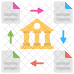 Distributed Ledger Icon