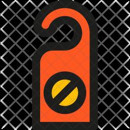 Disturb, Sign Icon