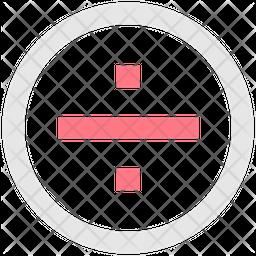 Divide Line Icon