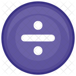 Divide, Math, Function, Round, Calculator Icon