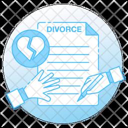 Divorce Document Icon