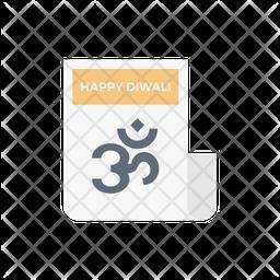 Diwali Card Icon