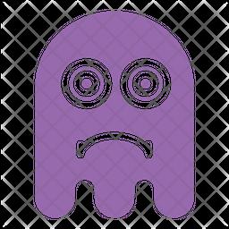 Dizzy Flat  Emoji Icon