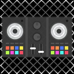 Dj Controller Icon