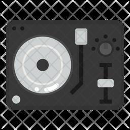 Dj Turntable Icon