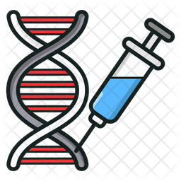 Dna Colored Outline Icon