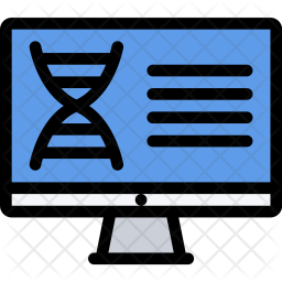 Dna, Analysis, Law, Crime, Judge, Court, Police Icon