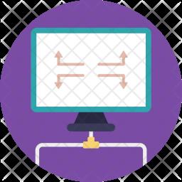 DNS Server Connection Icon