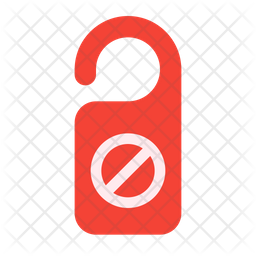 Do Not Disturb Icon Of Flat Style Available In Svg Png Eps Ai Icon Fonts