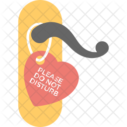 Do Not Disturb Sign Icon Of Flat Style Available In Svg Png Eps Ai Icon Fonts