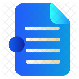 Document Icon Of Gradient Style Available In Svg Png Eps Ai Icon Fonts