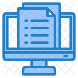 Document Icon Of Colored Outline Style Available In Svg Png Eps Ai Icon Fonts