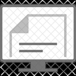 Document Flat Icon