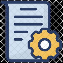 Document Management Icon