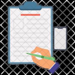 Document Writing Icon