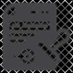 Documents Glyph Icon
