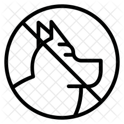 Dog Line Icon