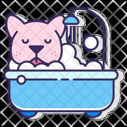 Dog Bath Icon