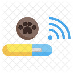 Dog Chip Icon