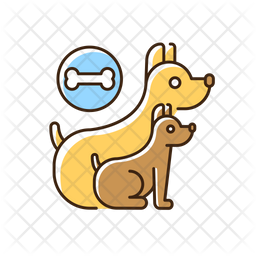 Dog day camp Icon
