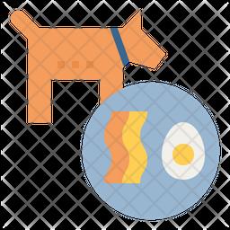 Dog diet Icon