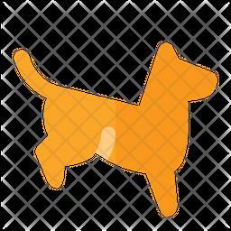 Dog Landing Icon