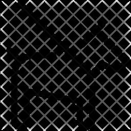 Dog Leash Line Icon