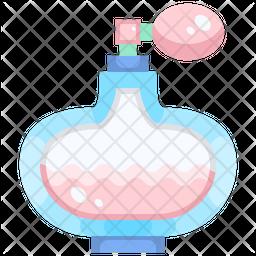 Dog Perfume Flat Icon