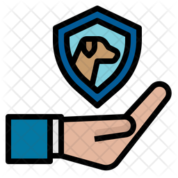 Dog Protection Icon
