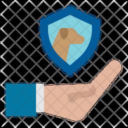 Dog Protection Icon